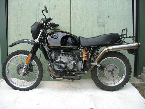 GSing around...1981 R80 G/S ....Some Improvements